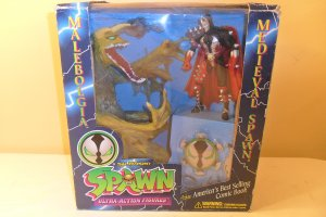 MIB 1995 Spawn Malebolgia vs Medieval Spawn Box Set Todd McFarlane