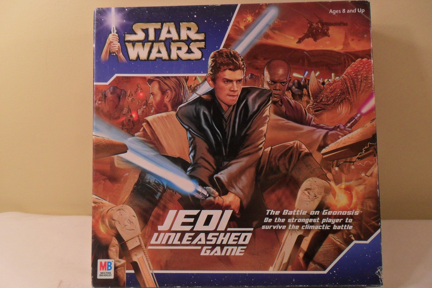 2002 Star Wars Jedi Unleashed Game Battle of Ge0nosis complete