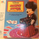 Vintage Mickey mouse Spin A Round magical card game