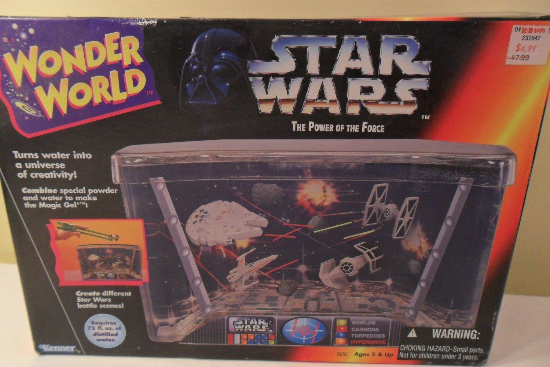 MIB 1995 Wonder World Star Wars Water Tank Toy Kenner (SOLD)