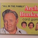 Vintage All in the Family 1972 Archie Bunker's Card Game Milton Bradley complete