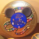 The Wonderful World of Disney Trivia Game in Collectible Round Tin MATTEL 1997