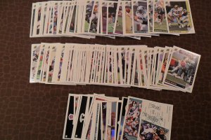 Lot Of World League 1992 football trading card