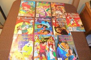 Lot of 10 Disney Comic Special book 1997