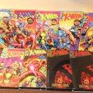 Lot of 9 X-Men VHS Video Tapes Marvel Comics