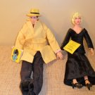 DICK TRACY and MADONNA dolls by Applause