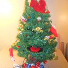 "Nice Large Motion Sensored Animated 26"" Tall Talking Singing Christmas Tree"