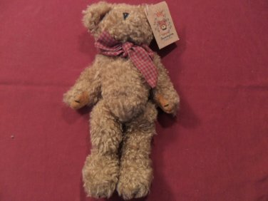 NWT Bearington Collection Fuzzy Wuzzy Jr. Bear