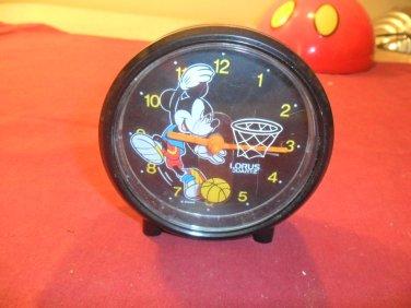 Disney Mickey Mouse Lorus Quartz Alarm Clock