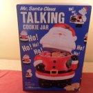 MIB Vintage Mr. Santa Claus Talking Cookie Jar
