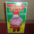 Vintage Musical Dancing Santa