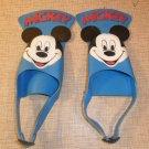 Vintage Disney Mickey Mouse Swim Fins Gear SCUBA Snorkel