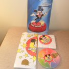 Vintage Disney Mickey Mouse Club Centerpiece, Table cloth, plates and napkins