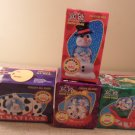 MIB 1996 Lot Of 4 Disney Snow Dome McDonald's