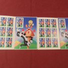 1998 Sylvester and Tweety Looney Toons Stamp Sets