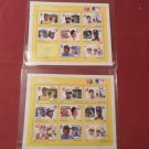 GRENADA-MAJOR LEAGUE BASEBALL IN STAMPS 2 sheets Mint