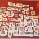 Huge lot of Vintage Postal Stamps
