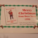 1996 Merry Christmas From Boys Town Stamps Mint