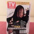 WWF The Undertaker Signature Cover Dec 5-11 1998 TV Guide