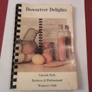1984 Downriver Delights Recipe Book Lincoln Park Women's Club