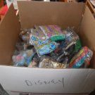 Large Priority Box Filled With Disney Happy Meal Toys 80's & 90's