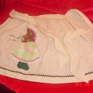 VINTAGE HOLLY HOBBIE ADULT APRON NEW CONDITION