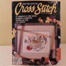 MAY 1992 FOR THE LOVE OF CROSS STITCH BOOK EASTER JAR LIDS 22 PROJECTS