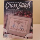 SEPT. 1989 AUTUMN HARVEST FOR THE LOVE OF CROSS STITCH BOOK
