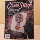 JULY 1993 TEATIME ROSES FOR THE LOVE OF CROSS STITCH BOOK