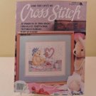 MARCH 1992 VICTORIAN FLORALS CROSS STITCH BOOK FOR EVER LOVE 20 PROJECTS
