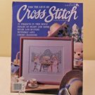 MAY 1990 CROSS STITCH BOOK FOR THE LOVE OF 21 PROJECTS