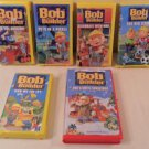 LOT OF 6 BOB THE BUILDER VHS VIDEO TAPES