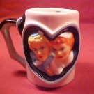 I LOVE LUCY FRIENDS FOREVER 3-D MUG