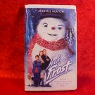 JACK FROST MICHAEL KEATON VHS VIDEO TAPE CLAM SHELL