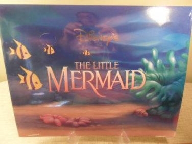 Disney Store Exclusive Commemorative Lithograph The Little Mermaid Mint