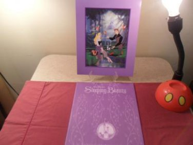Disney Store Exclusive Commemorative Lithograph Sleeping Beauty