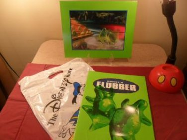 Disney Store Exclusive Commemorative Lithograph Flubber Mint