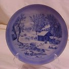 VINTAGE CURRIER & IVES COLLECTOR PLATE WILDERNESS