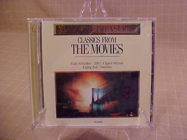 CLASSICAL TREASURES FROM THE MOVIES CD