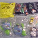 LOT OF McDONALDS HAPPY MEAL TOYS MIP