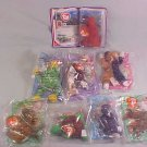 LOT OF 1999 McDONALDS TY TEENIE BEANIES MIP