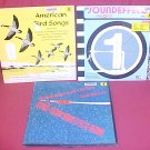 LOT OF 3 SOUNDEFFECTS 33 RPM LP RECORD