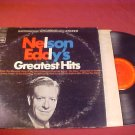 NELSON EDDY'S GREATEST HITS 33 RPM RECORD ALBUM