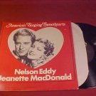NELSON EDDY AND JEANETTE MACDONALD 33 RPM RECORD