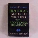 1985 BARNET & STUBB'S PRACTICAL GUIDE TO WRITING BOOK