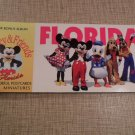VINTAGE 20 DISNEY MICKEY & FRIENDS POSTCARD & MINIATURE