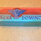 Vintage Halsam Double Six MAGNA DOMINOES #225 In Box