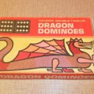 VINTAGE HALSAM DOUBLE TWELVE DRAGON DOMINOS SET