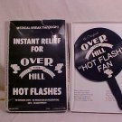 VINTAGE OVER THE HILL HOT FLASH FAN