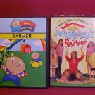 LOT OF 2 DVD FAIRY TALES,AND BABY SUPERSTAR FARMER SET CHILDRENS